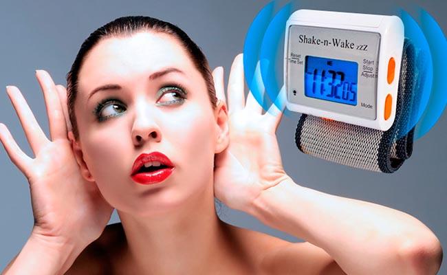 despertador para sordos