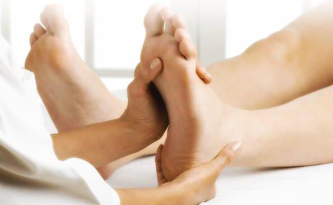 masajeador de pie