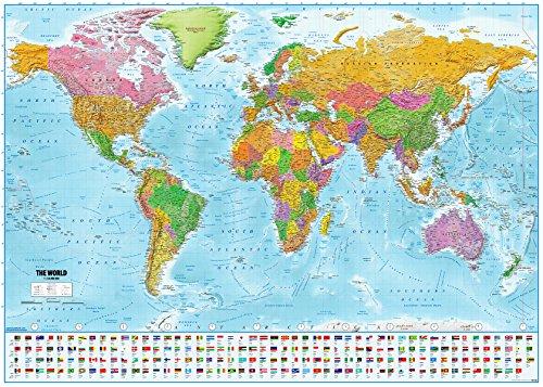 Mejor Mapa Mundi Político
